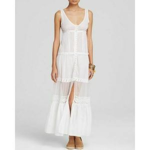 NWOT Free People Victoria Buttonfront Maxi Dress